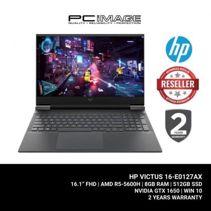 """HP Victus 16-E0127AX 16.1"""" FHD 144Hz Gaming Laptop (R5-5600H, 8GB, 512GB, GTX 1650, W10) - Blue"""