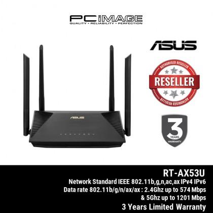 ASUS RT-AX53U AX1800 DUAL BAND SMART WIFI 6 ROUTER MU-MIMO
