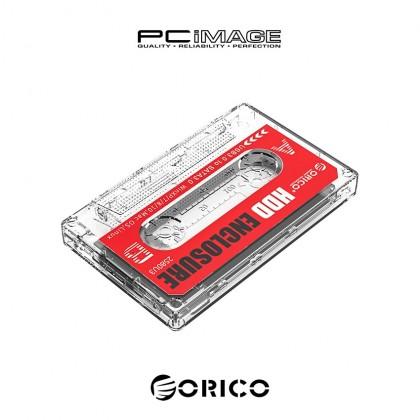 "ORICO 2580U3 Transparent Tape Shape 2.5"" HDD Enclosure"