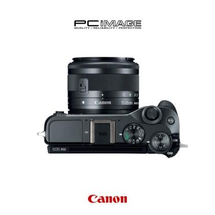 CANON EOS M6 Mirrorless Camera + EF-M 15-45mm Kits Silver