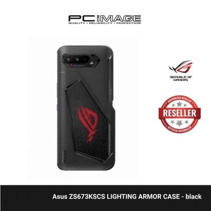 Asus ZS673KSCS LIGHTING ARMOR CASE - black ( For rog phone 5,5s)
