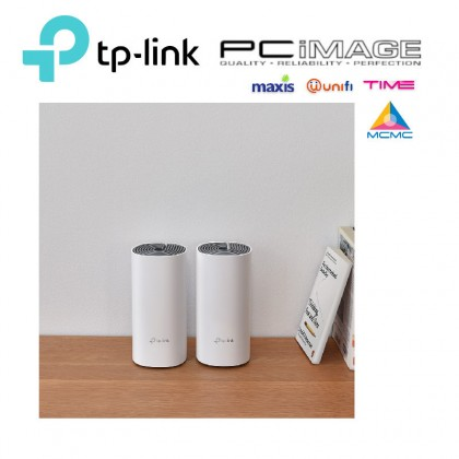 TP-LINK DECO E4-2PACK AC1200 WHOLE HOME MESH WIFI SYSTEM