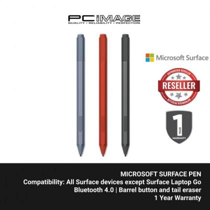 Microsoft Surface Pen (Black EYU-00005 / Poppy Rede EYU-00045 / Ice Blue EYU-00053)