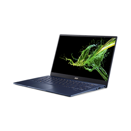 """ACER Swift 5 ( SF514-54T-50GD- Moonstone White / SF514-54T-52AS- Charcoal Blue) 14"""" Laptop- ( i5-1035G1, 8GB, 512GB, Win10+H&S, 2YRS )"""