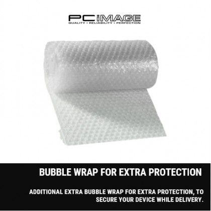 EXTRA BUBBLE WRAP FOR EXTRA PROTECTION