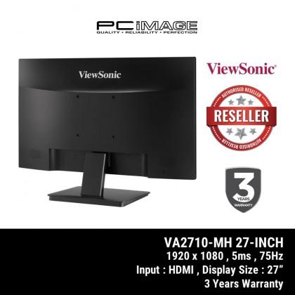 "VIEWSONIC VA2732H / VA2710 27"" IPS Monitor 1980X1080 4MS 75HZ VGA HDMI 3 Years Warranty"