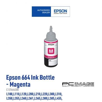 EPSON T664 Original Ink Bottle 70ML ( Black-T6641 | Magenta-T6642 | Cyan-T6643 | Yellow-T6644 )