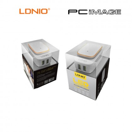 LDNIO A2205 LED TOUCH LAMP WITH DUAL USB CHARGER 2.4A