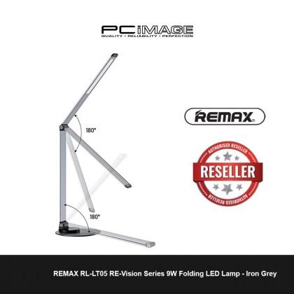 REMAX RL-LT05 RE-Vision Series 9W Folding LED Lamp - Iron Grey