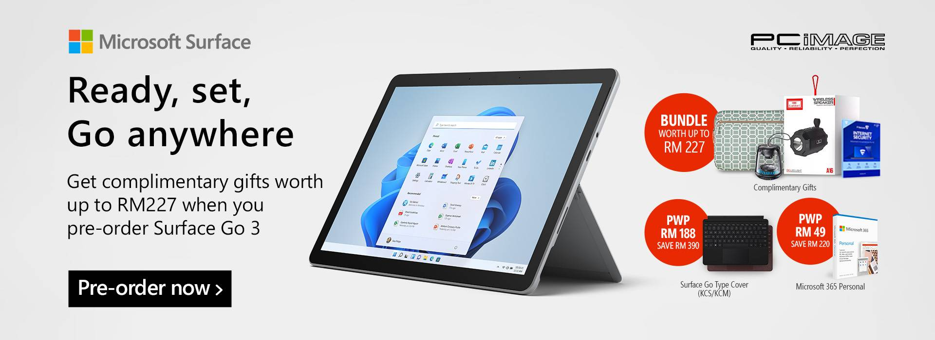 Surface Go 3 Pre-Order 5 Oct