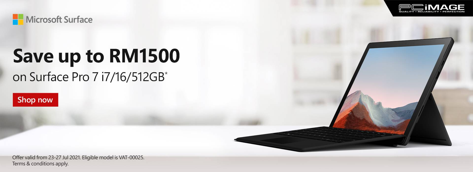 Selected Surface Device Promo 31 July