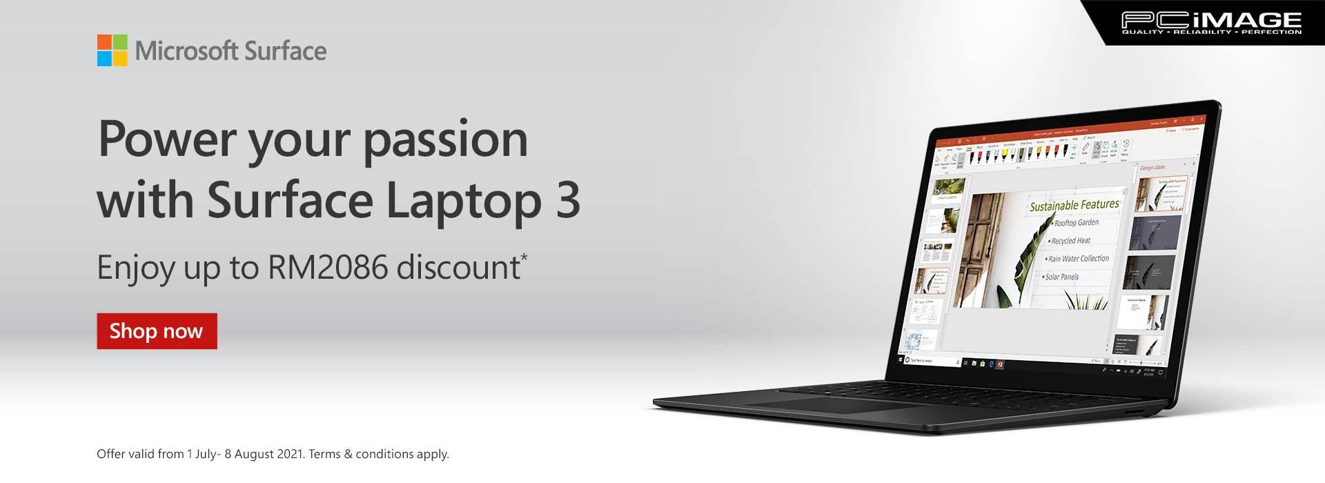 Surface Laptop 3 8 Aug