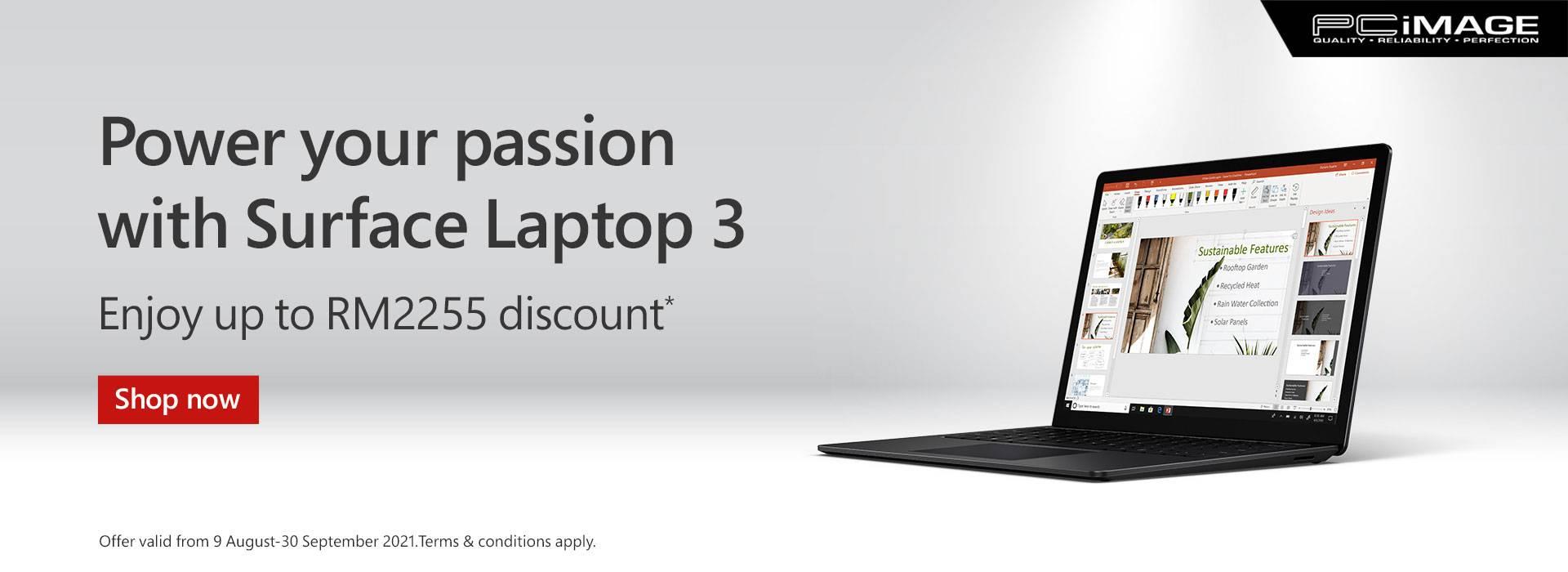 Surface Laptop 3 30 Sep