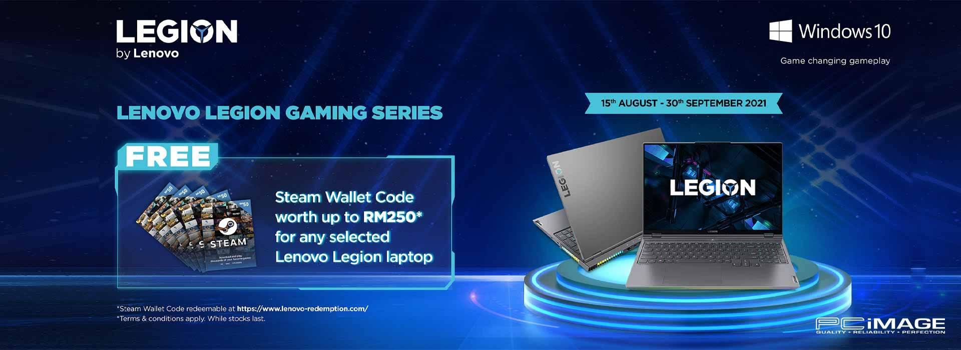 Lenovo Legion Gaming Promo 30 Sept