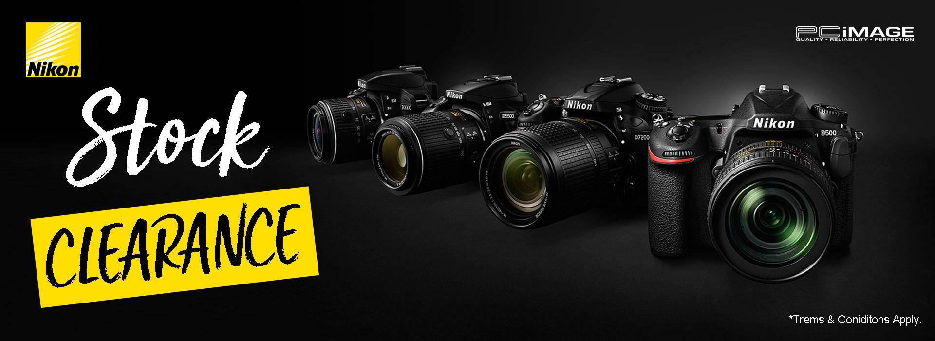 Nikon Stock Clearance