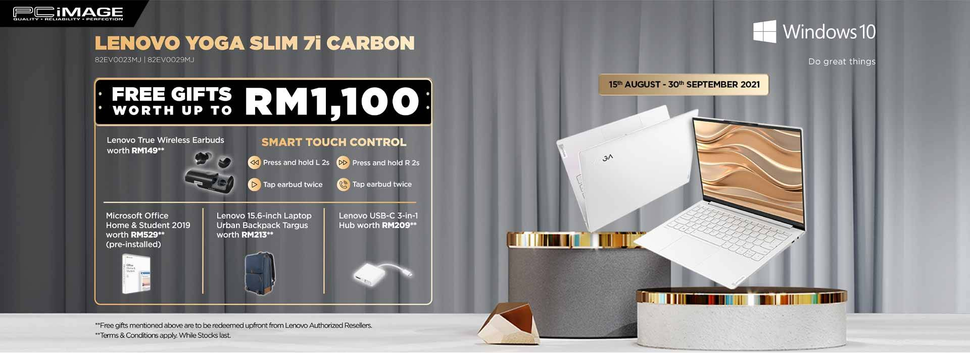 Lenovo Yoga Slim Promo 30 Sept