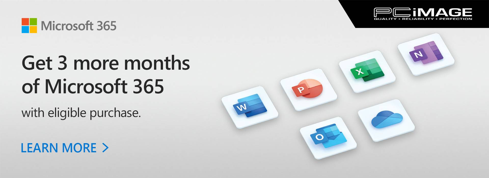 Get 3 more months of Microsoft 365